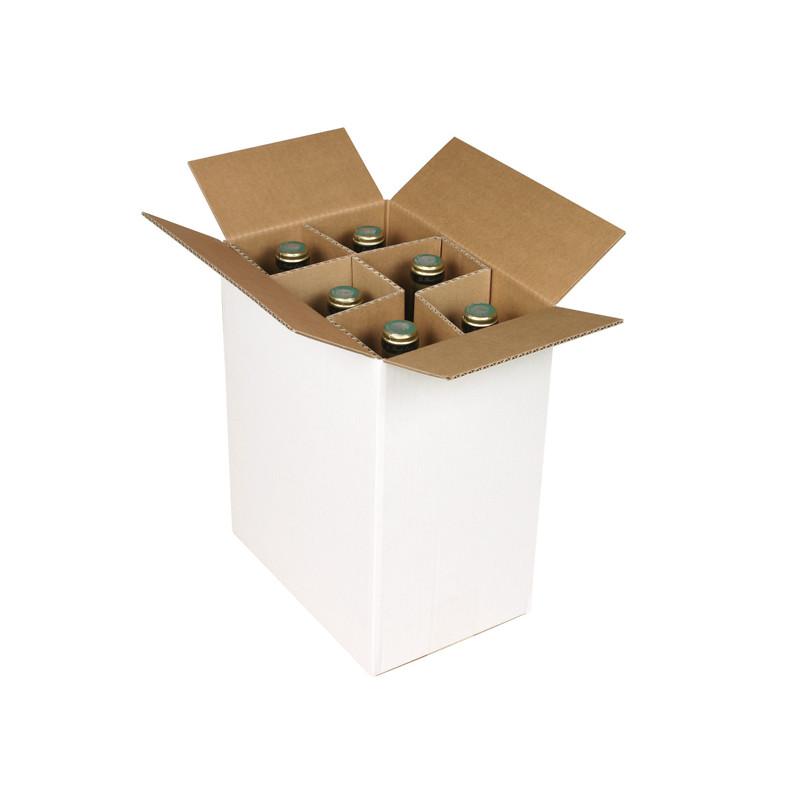 Caisse bouteilles Simple cannelure 247 x 168 x 306 mm