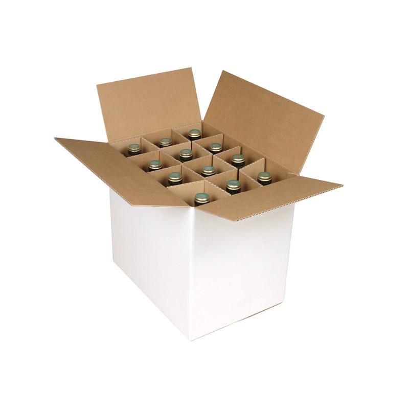 Caisse bouteilles Simple cannelure 336 x 247 x 306 mm