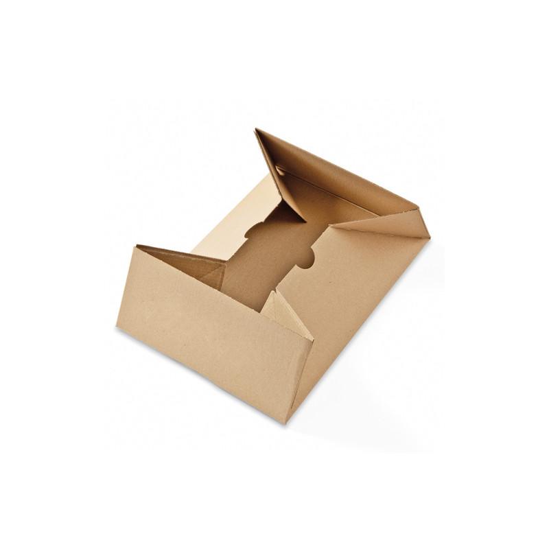 Boîte cloche 4 coins collés kraft brun ColomPac®