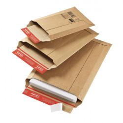 Pochette d'expédition carton ondulé fermeture adhésive ColomPac®
