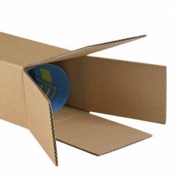 Tube d'expédition carton carré