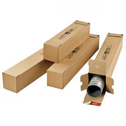 Tube d'expédition carton carré fermeture adhésive ColomPac®