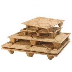 Palette bois moulé