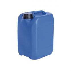 Bidon plastique bleu homologué UN
