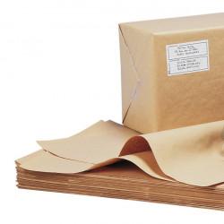 Papier kraft brun en feuilles 90g/m²