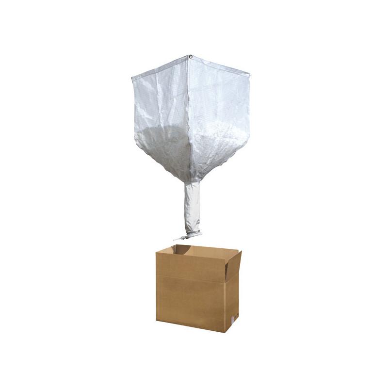 Silo pour particulaires - capacité 0,5m3