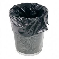 Sacs poubelle plastique noir renforcé 55 microns