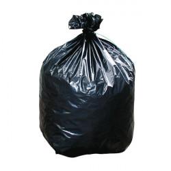 Sacs poubelle plastique noir 35 micron
