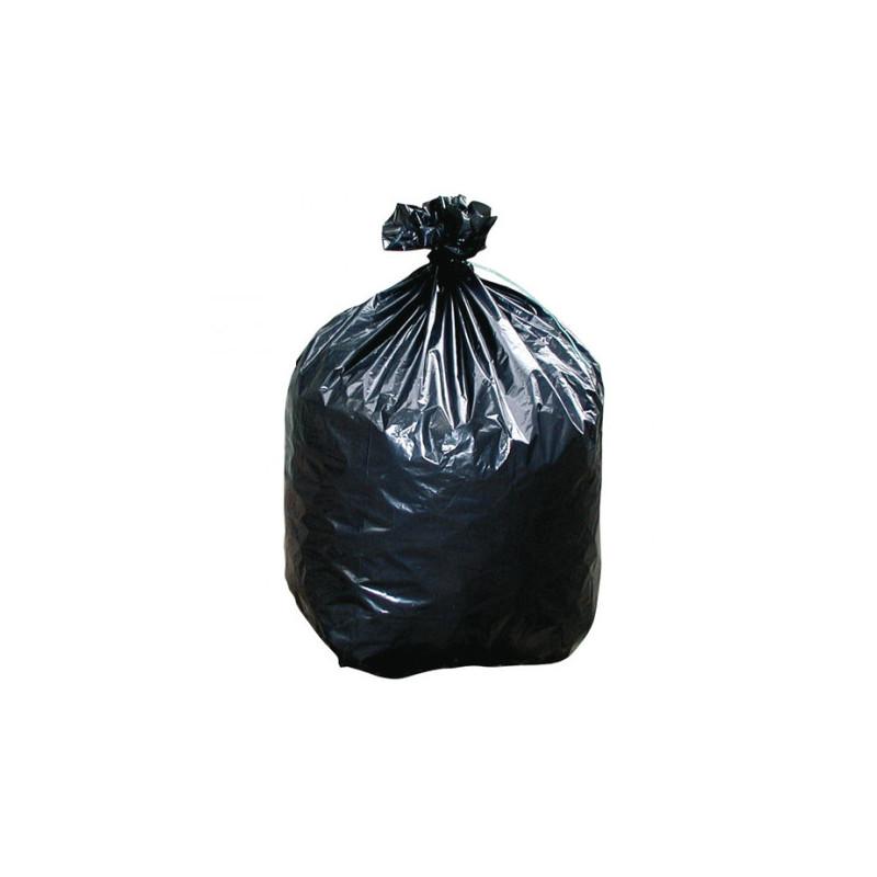 Sacs poubelle plastique noir 45 microns