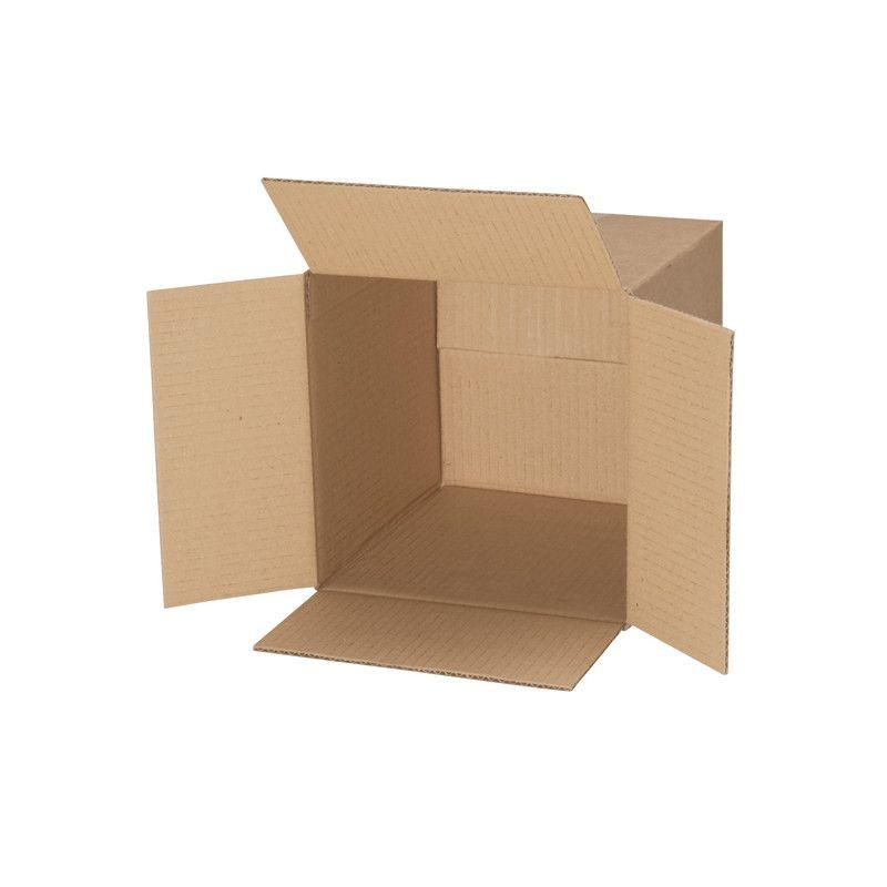 Carton simple cannelure