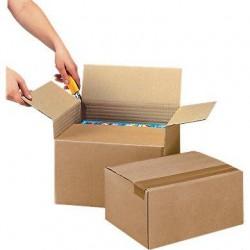 Cartons à hauteur variable - Pakup-Emballage.fr