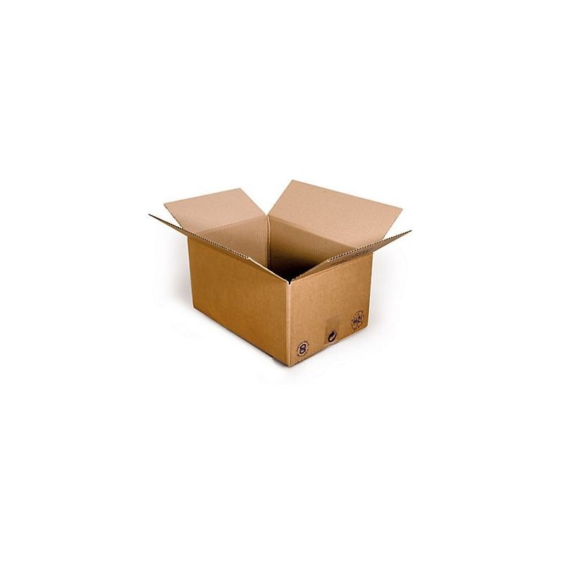 Pack de 25 Cartons Simple Cannelure Havane, Pack - Pakup-Emballage.fr