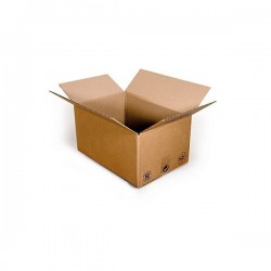 Pack de 20 Cartons Simple Cannelure Havane, Pack - Pakup-Emballage.fr