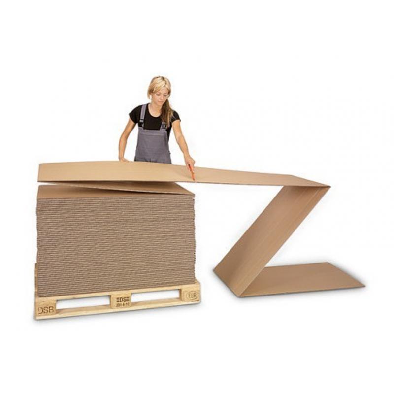 Plaque accordéon, Carton Ondulé Emballage - Pakup-Emballage.fr