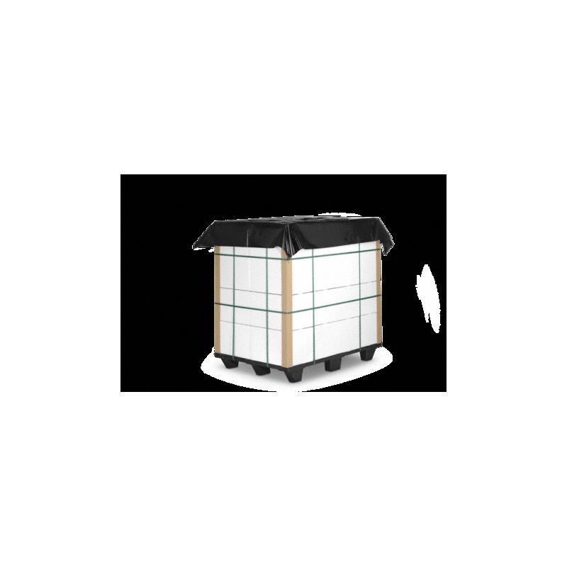 Coiffe palette format à plat - Pakup-Emballage.fr