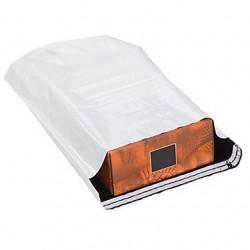 Pochettes plastique opaque avec soufflet - Pakup-Emballage.fr