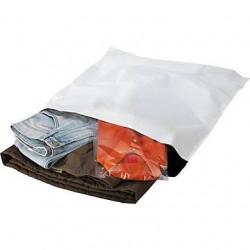 Pochettes plastique opaque Aller/Retour - Pakup-Emballage.fr