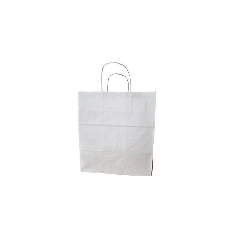 Sac kraft traiteur poignées torsadées, Sac courses - Pakup-Emballage.fr