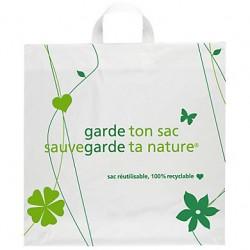 Sac Recyclé Poignées Souple - Pakup-Emballage.fr