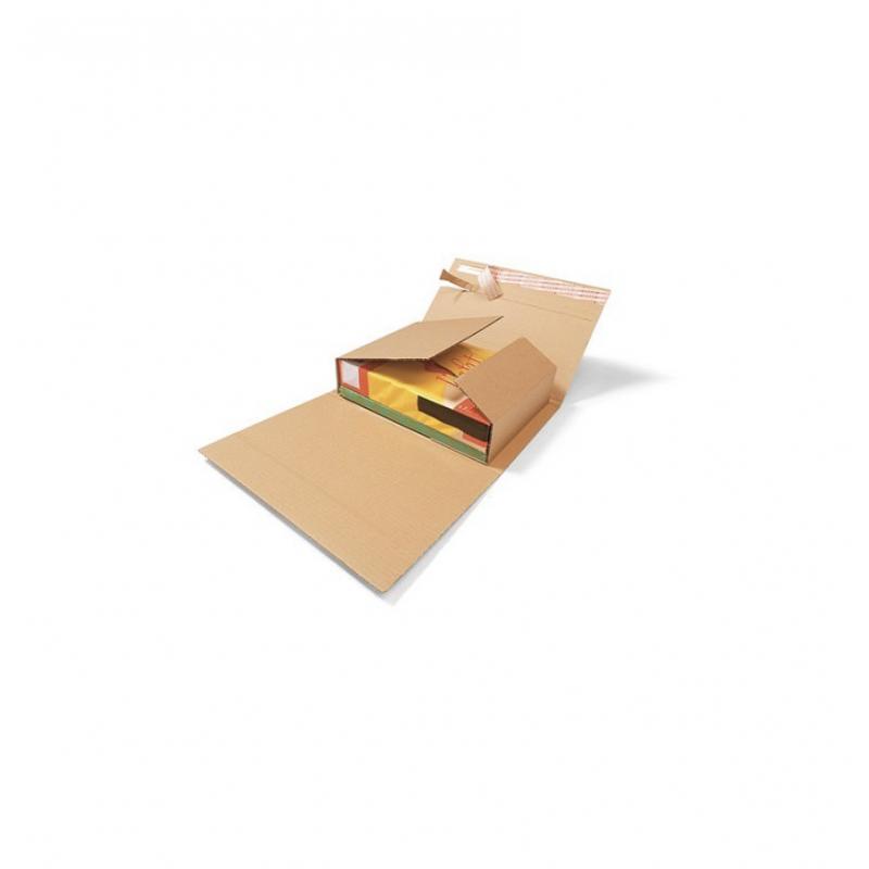 Étui avec fermeture adhésive Ecopac - Pakup-Emballage.fr