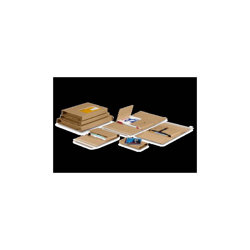 Étui standard avec fermeture adhésive Unipac®, Etui carton - Pakup-Emballage.fr