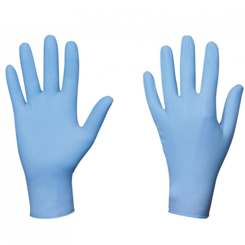 Gant nitrile bleu, Produit d'entretien - Pakup-Emballage.fr