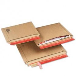 Pochette carton avec fermeture adhésive - Pakup-Emballage.fr