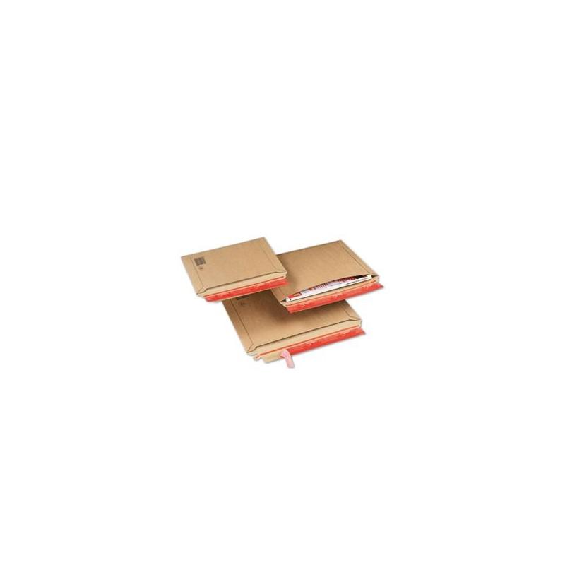 Pochette carton avec fermeture adhésive, Enveloppe Matelassée - Pakup-Emballage.fr