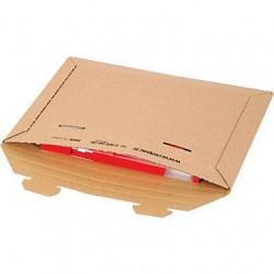 Pochette carton avec fermeture par languettes, Enveloppe Matelassée - Pakup-Emballage.fr