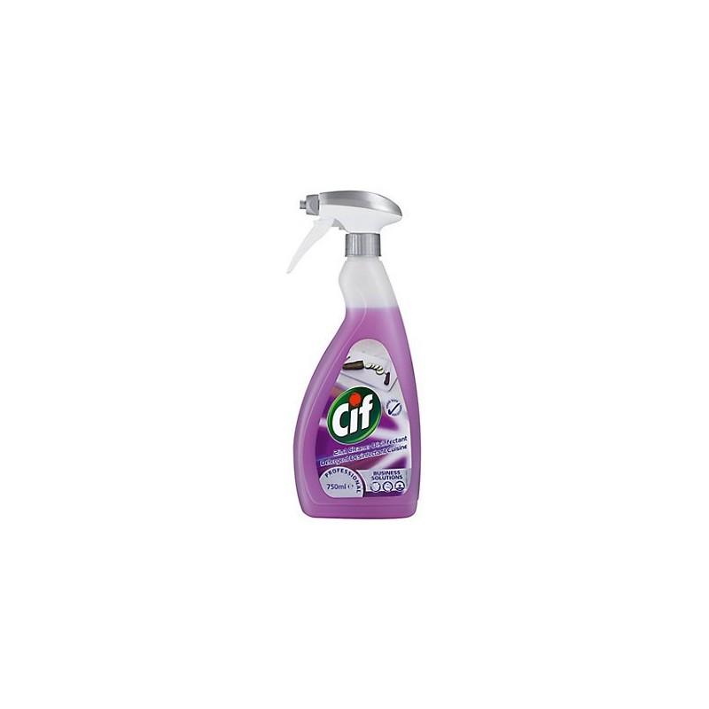Détergent désinfectant cuisine Cif Professional®, Produit d'entretien - Pakup-Emballage.fr