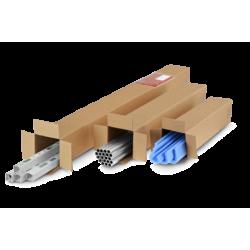 Pack de 10 Cartons Carrées double cannelure - Pakup-Emballage.fr