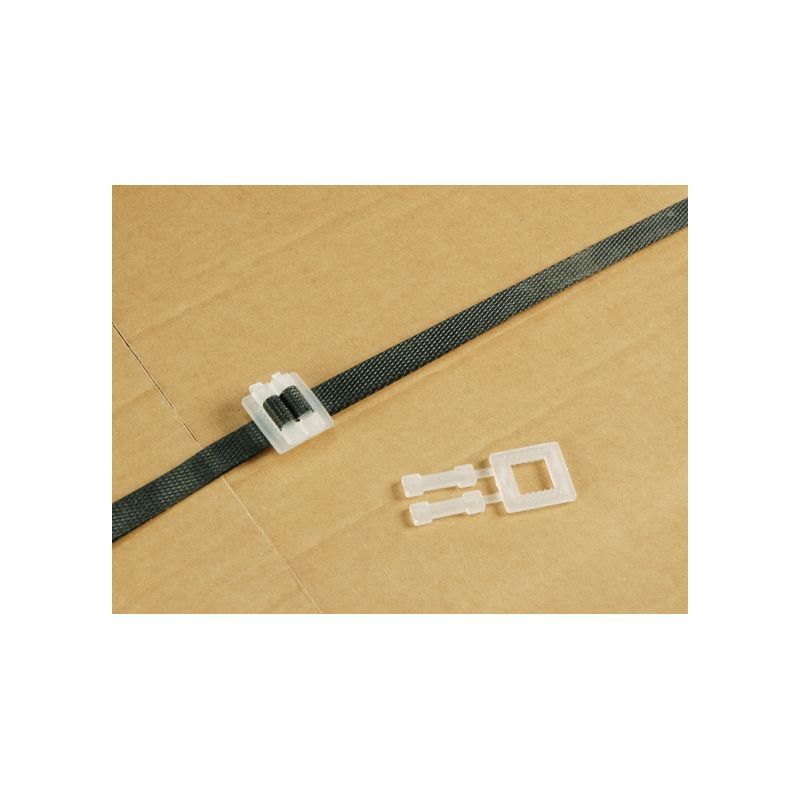 Boucle plastique, Accessoires cerclage - Pakup-Emballage.fr