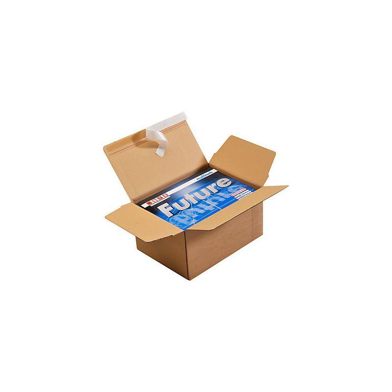 Cartons à fond automatique et bande adhésive, Carton standard (caisse américaine) - Pakup-Emballage.fr
